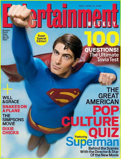 Brandon Routh Entertainment Weekly