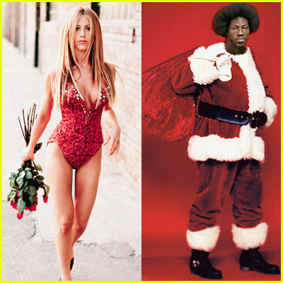 Jennifer Aniston Slapped By Santa