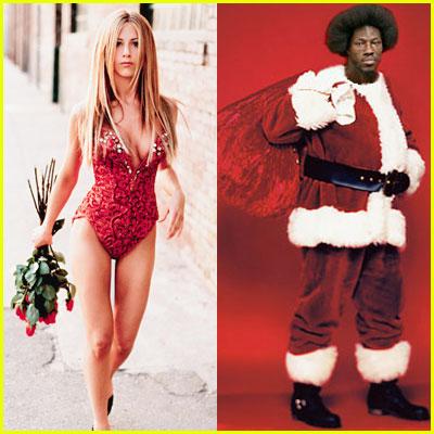 Jennifer Aniston Slapped By Santa