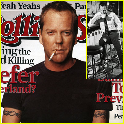 Kiefer Sutherland Rolling Stone
