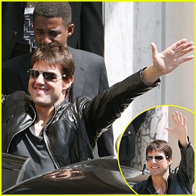Tom Cruise in Rome