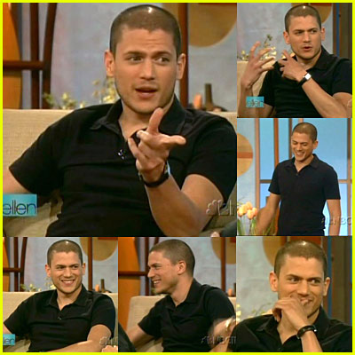 Wentworth Miller on Ellen