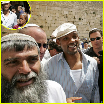 Will Smith in Jerusalem