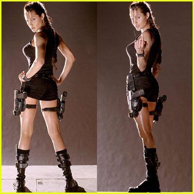 Angelina Jolie Tomb Raider Costume