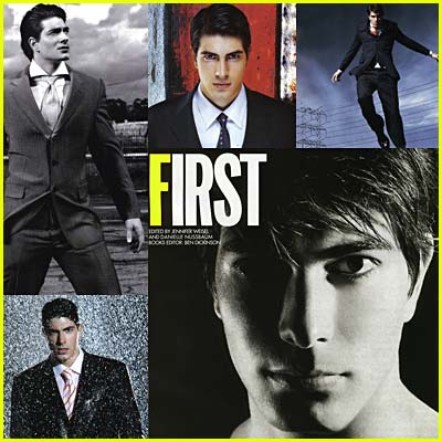 Brandon Routh in GQ Magazine
