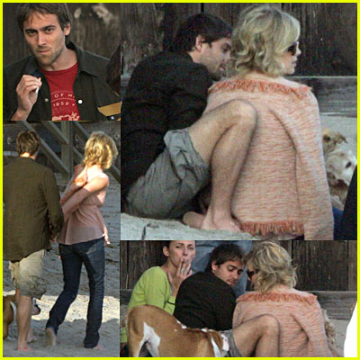Charlize Theron & Stuart Townsend Pictures
