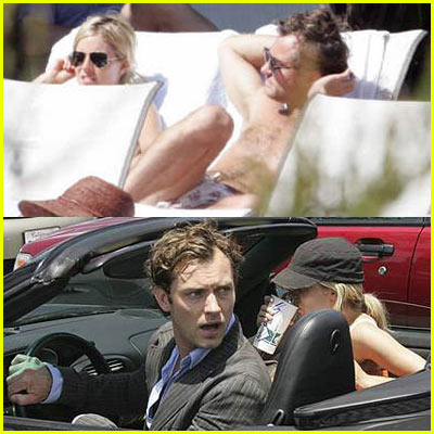 Jude Law and Sienna Miller Back On