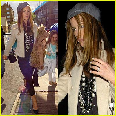 Kate Beckinsale in London