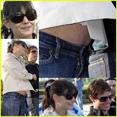 Tom Cruise and Katie Holmes have a parents' day out as they attend Cruise's ...