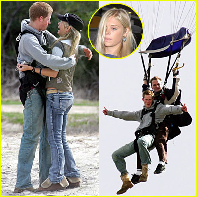 Prince Harry Skydiving