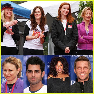 Celebrities Revlon Walk/Run 2006