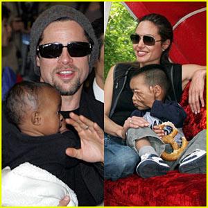 Shiloh Nouvel Jolie-Pitt couple