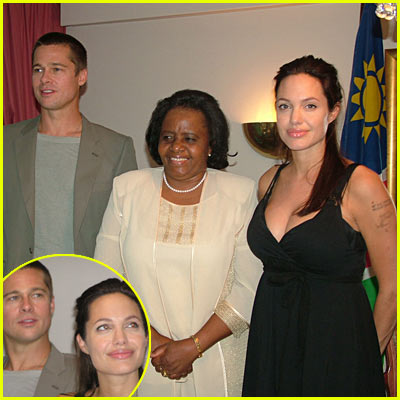 Brad & Angelina Press Conference