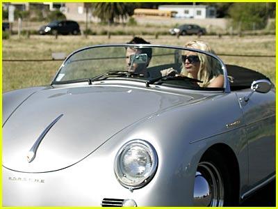Britney Spears' Porsche