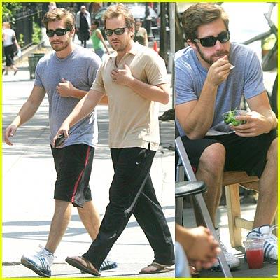 Jake Gyllenhaal & Peter Sarsgaard are Twins
