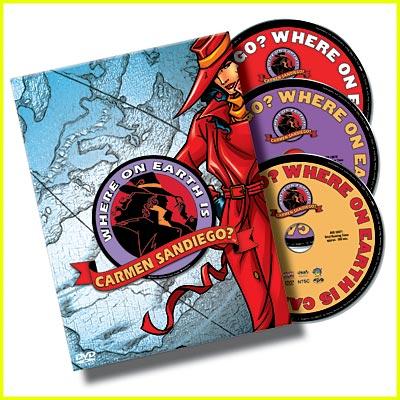 Carmen Sandiego DVD Giveaway