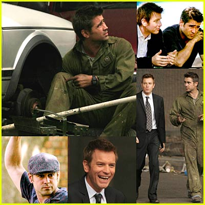 Colin Farrell & Ewan McGregor in Woody Allen Movie Set