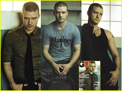 Justin Timberlake: GQ Magazine