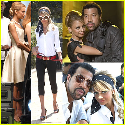"Lionel Richie's ""I Call It Love"" Music Video Featuring Nicole Richie"