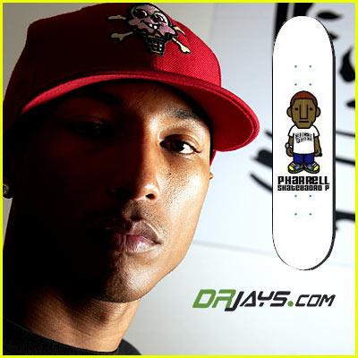Pharrell Skateboard Contest