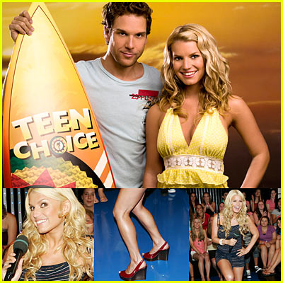Teen Choice Awards 2006: Jessica Simpson & Dane Cook Promo