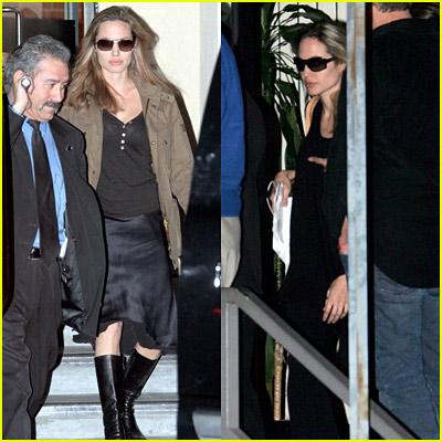 Angelina Jolie Boots