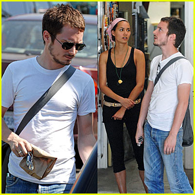Elijah Wood Girlfriend http://www.justjared.com/2006/08/03/elijah-woods-girlfriend-pamela-racine/