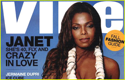 Janet Jackson: Topless in Vibe Magazine