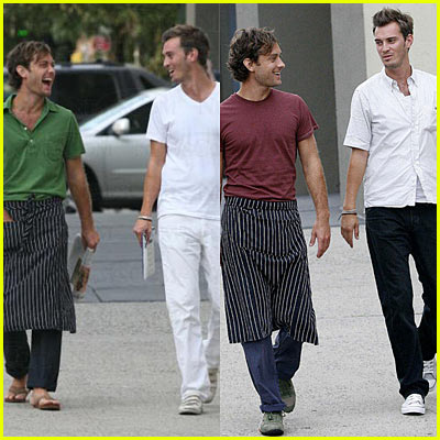 Jude Law & Personal Assisant Ben Jackson