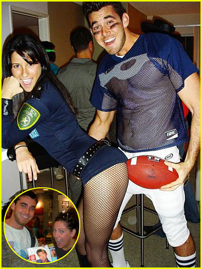 Here are some pictures of Lance Bass' ex-boyfriend Jesse dressed up as a ...