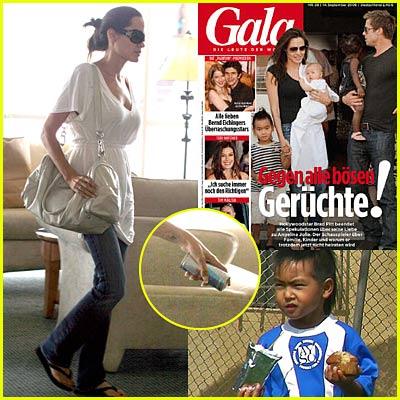 First Jolie-Pitt Family Candid!!
