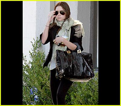 Ashley Olsen Goes Brunette