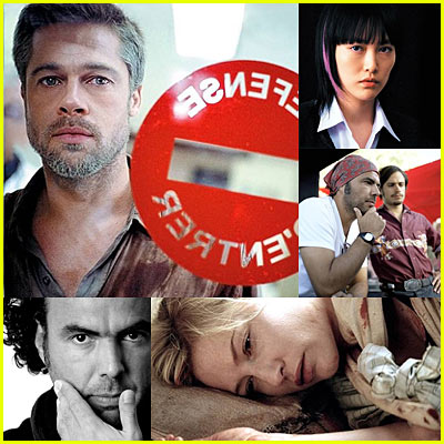 New Brad Pitt 'Babel' Stills