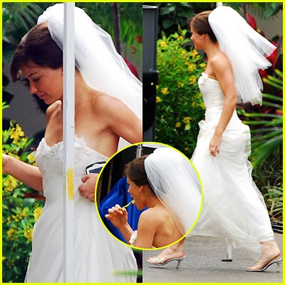 Evangeline Lilly Says 'I Do'