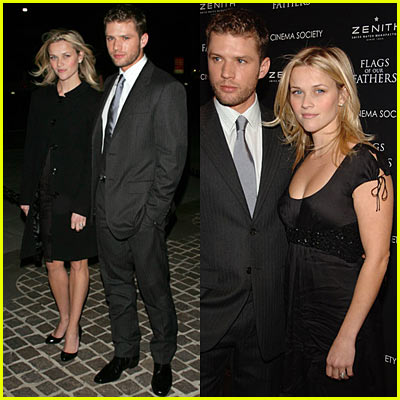 Ryan & Reese: 'Flag of Our Fathers' Premiere