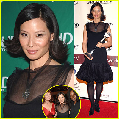Lucy Liu @ Women's World Awards