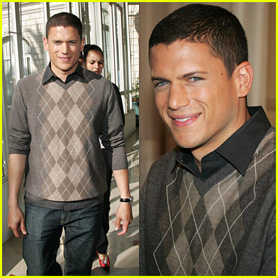 Wentworth Miller Rocks The Argyle