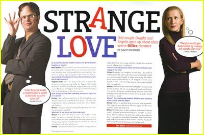 Dwight & Angela: Strange Love