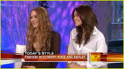 Mary-Kate & Ashley 'Today' Interview