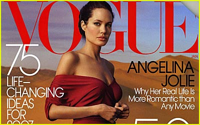 Angelina Jolie 'Vogue' Scans