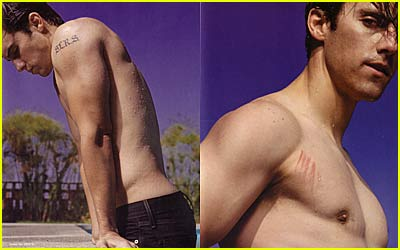 Milo Ventimiglia Goes Shirtless