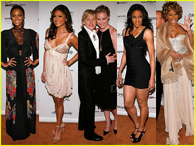 Wall-to-wall stars at Clive Davis' Party