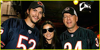 Demi Moore's Family Affair