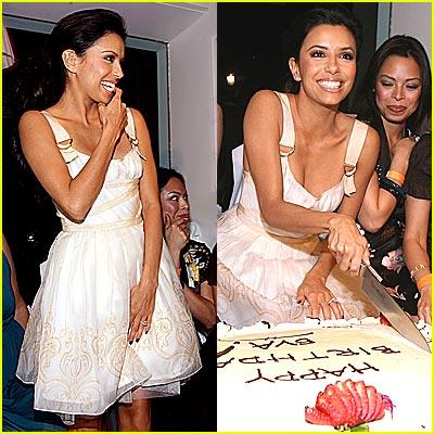 Inside Eva Longoria's Birthday Party