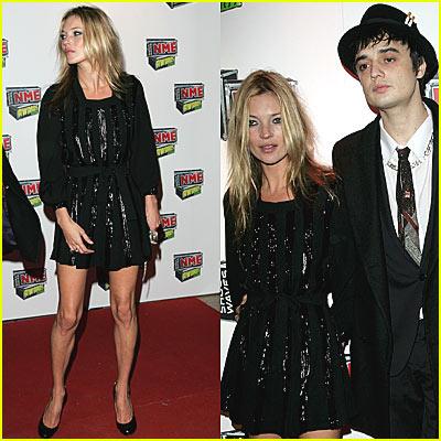 Kate Moss @ NME Awards 2007