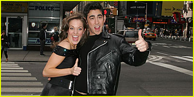 Max Crumm & Laura Osnes: Broadway's New Danny & Sandy