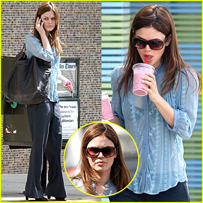 Rachel Bilson is Sheer Madness
