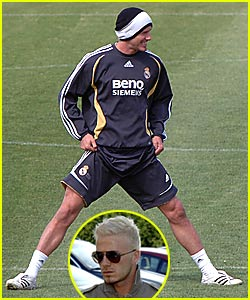 David Beckham: Mr. Platinum Balls