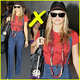 Fergie Bringing Suspenders Back