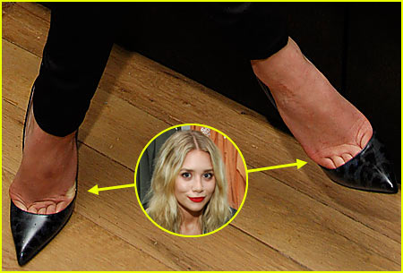 Ashley Olsen: Free My Tiny Toes!